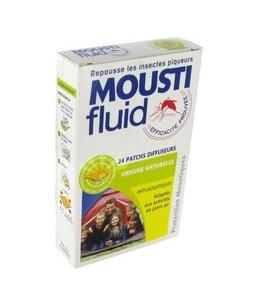 Moustifluid - Patchs Diffuseurs - Origine Naturelle