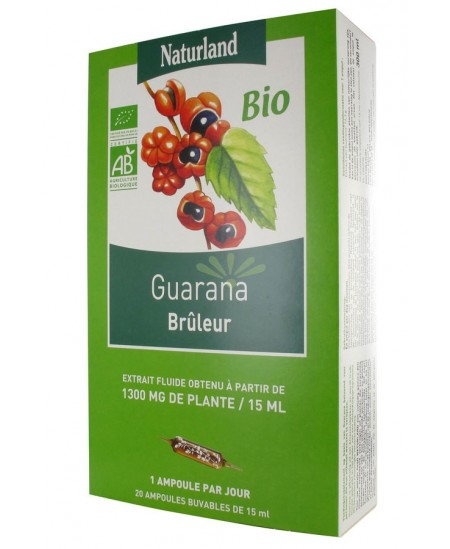 Naturland - Extrait Fluide Bio - Guarana