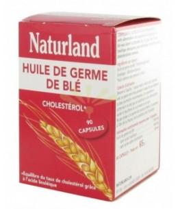 Naturland - Huile de Germe de Blé - 90 Capsules