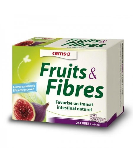 Ortis - Fruits & Fibres - 24 Cubes