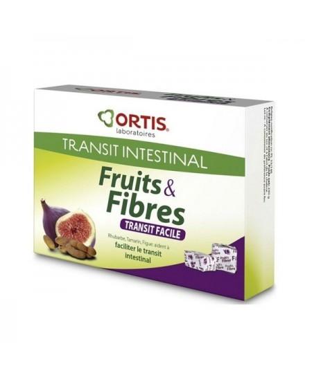 Ortis - Fruits & Fibres Bio - Double Action - 12 Cubes