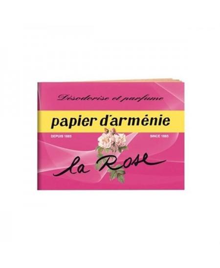 Papier d'Arménie - Le carnet - La rose