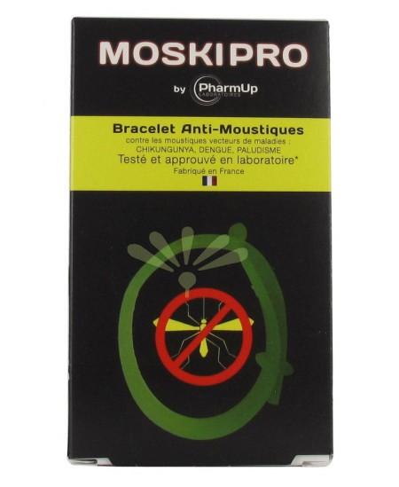 PharmUp - Moskipro - Bracelet Anti-Moustiques - Vert