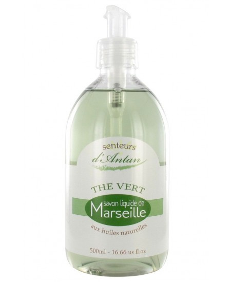 PharmUp - Savon Liquide de Marseille - Thé vert - 500 ml