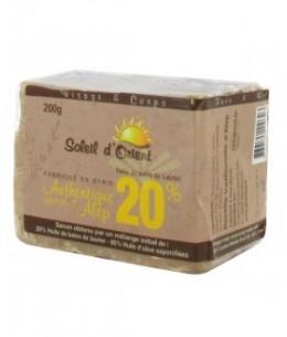 PharmUp - Soleil d'Orient - Savon d'Alep - 20% huile de baies de laurier - Peaux mixtes