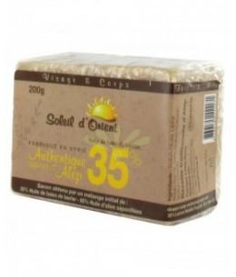 PharmUp - Soleil d'Orient - Savon d'Alep - 35% huile de baies de laurier - Peaux grasses