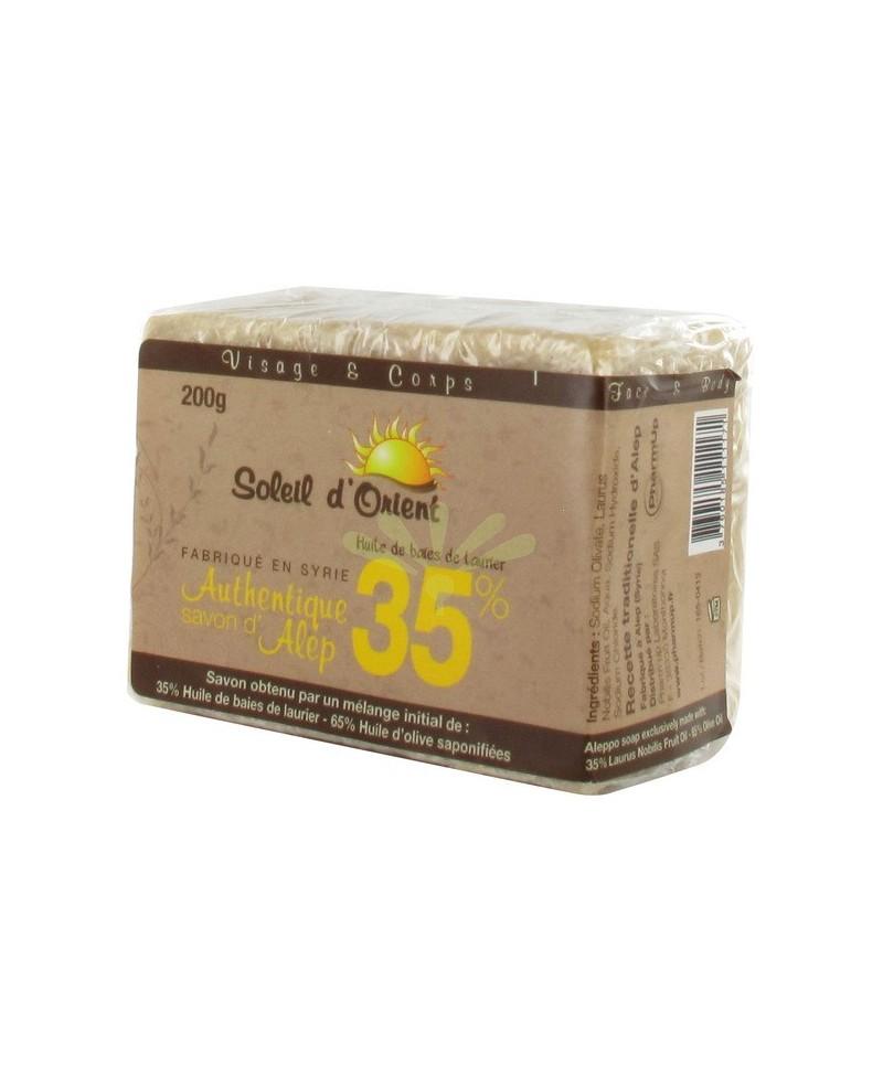 PHARMUP - SAVON D'ALEP 35% PEAUX GRASSES - 200 GR