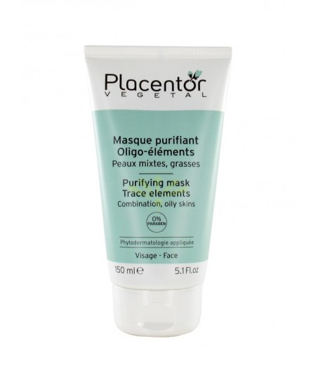 Placentor Vegetal - Masque Purifiant Argile Verte - 150 Ml