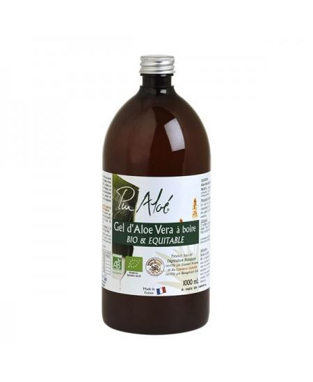 Pur Aloé - Gel D'Aloe Vera A Boire - Bio & Equitable - 1 Litre