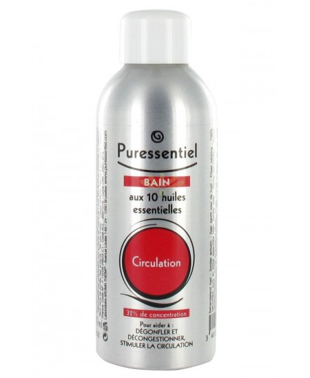 uressentiel - Bain aux 10 huiles essentielles - Circulation - 100 Ml