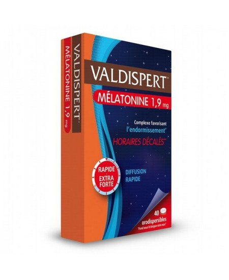 Valdispert - Mélatonine - 40 Comprimés Orodispersibles