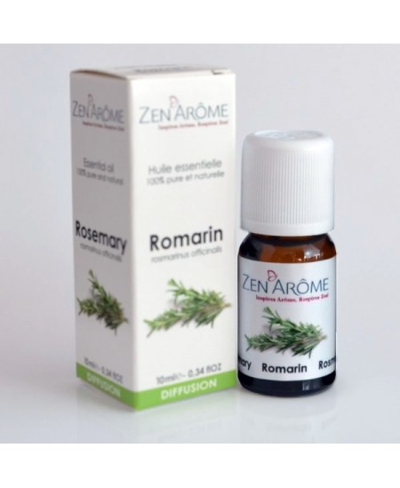 Zen'Arôme - Huile essentielle de Romarin - 10ml