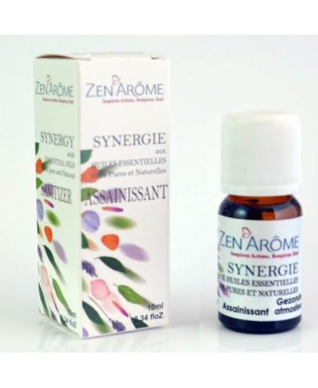 Zen'Arôme - Synergie d'huiles essentielles ASSAINISSANT - 10ml