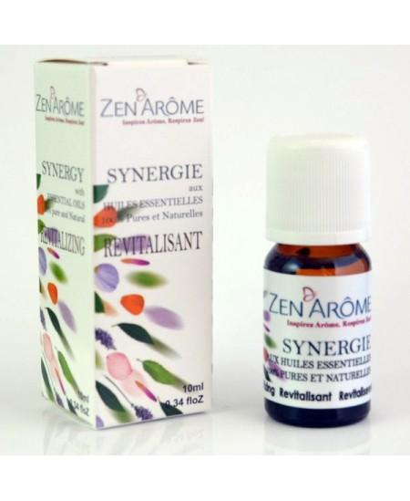 Zen'Arôme - Synergie d'huiles essentielles REVITALISANTE - 10ml