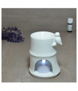 Zen'Arôme - Brûle parfum en céramique - Bambou