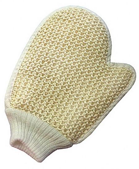 Zen'Arôme - Gant de Massage Exfoliant en Crin et Coton