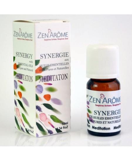 Zen'Arôme - Synergie d'huiles essentielles MEDITATION - 10ml