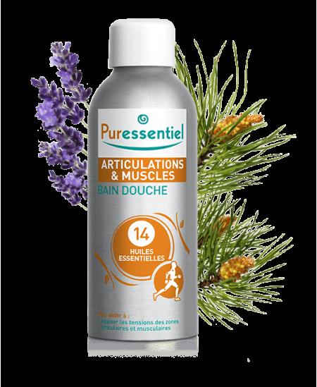 Puressentiel - Bain-Douche aux 14 huiles essentielles - Articulations - 100 Ml