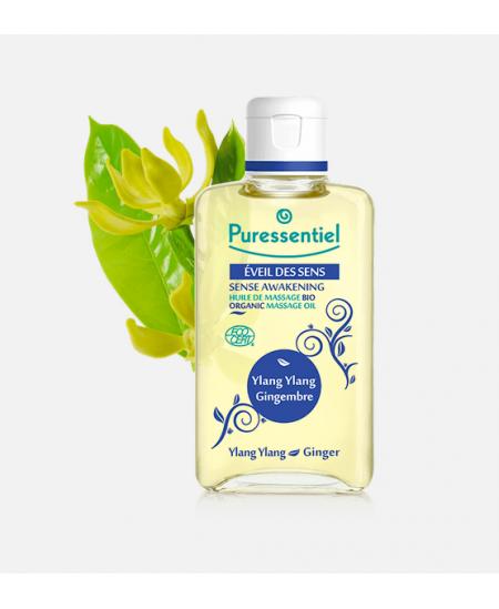 Puressentiel - Eveil des sens - Huile de massage bio - 100 ml
