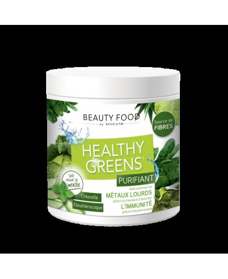 Biocyte - Healthy Greens Purifiant - Goût naturel menthe - 208 g