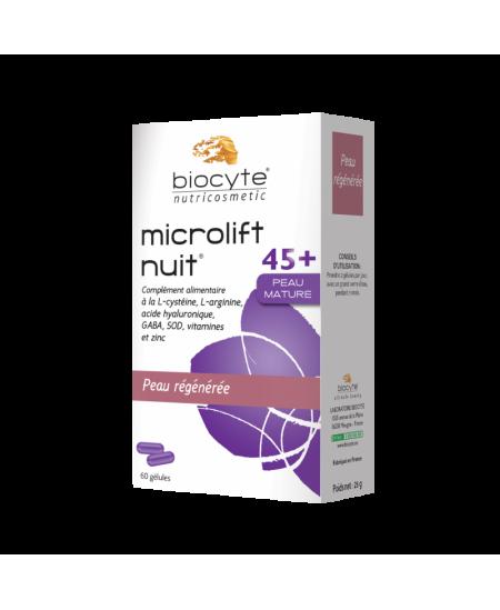Biocyte - Microlift Nuit 45+ Peau Mature - Peau Régénérée - 60 Comprimés