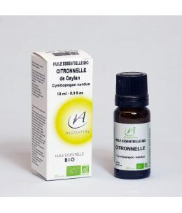 Algovital - Huile Essentielle Bio - Citronnelle de Ceylan