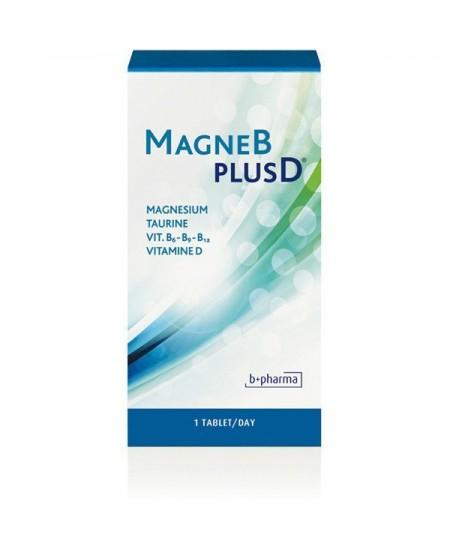 B+Pharma - MagneBplusD - 60 Comprimés