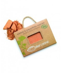 Couleur Caramel - Ombre à paupières nacrée n°7 Or cuivré