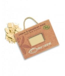 Couleur Caramel - Ombre à paupières n°8 Beige jaune mat
