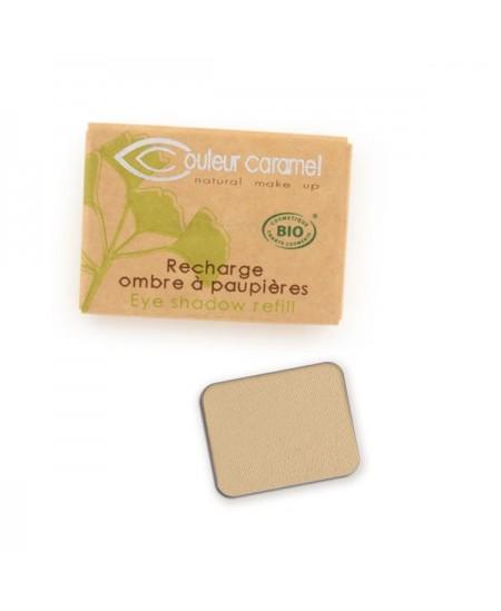 Couleur Caramel - Recharge ombre à paupières n°8 Beige jaune mat
