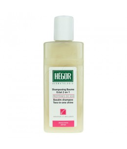 Hégor - Shampooing Baume Eclat 2 en 1 aux Protéines de Soie