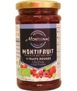 Montignac - Monti Fruit - 4 Fruits Rouges Bio