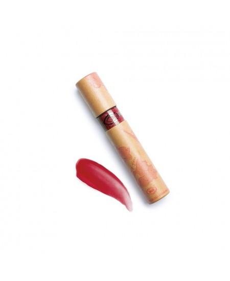 Couleur Caramel - Gloss rouge framboise nacré n°805