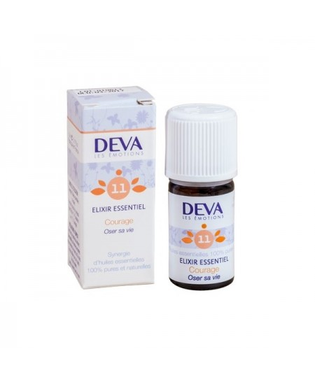 Deva - Elixir Essentiel - Courage N° 11 - 5 Ml