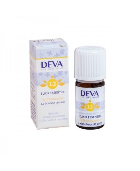 Deva - Elixir Essentiel - Enthousiasme N° 12 - 5 Ml