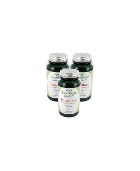 EspritPhyto - Passiflore - Cure de 2 mois (3 boîtes de 90 gélules)