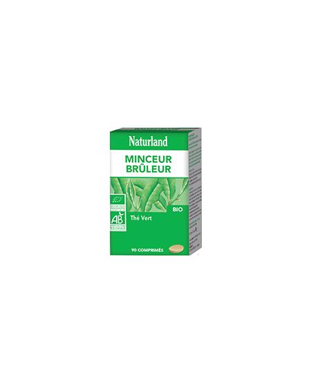 Naturland - Thé Vert Bio - Comprimés