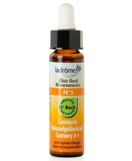 Ladrôme - Elixir Floral Bio - Centaurée N° 5 - 10 Ml