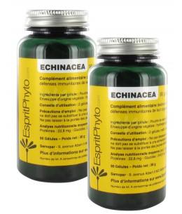 EspritPhyto - Echinacea - Cure de 1 mois (2 Boîtes de 90 Gélules)