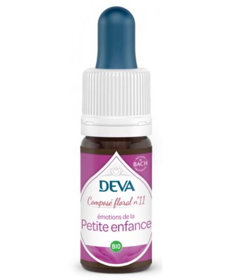 Deva - Composé Floral Bio - Petite Enfance N° 11 - 10 Ml