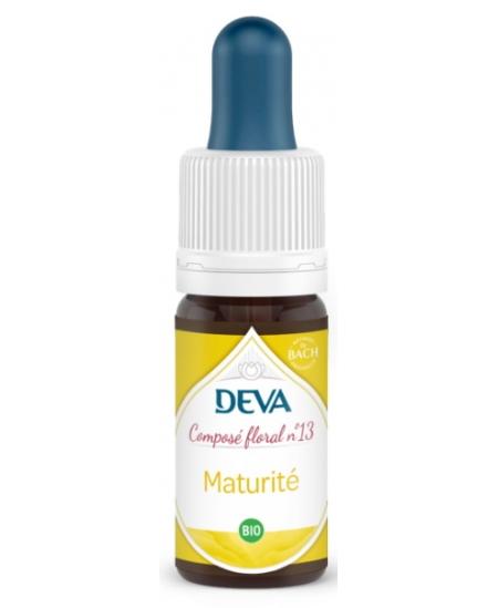 Deva - Composé Floral Bio - Maturité N° 13 - 10 Ml