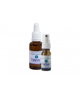 Deva - Spray Composé Floral Bio - Etudes et Examens N° 8 - 10 Ml