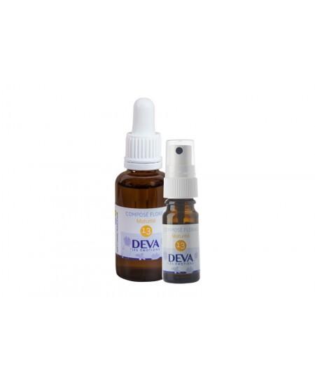 Deva - Spray Composé Floral Bio - Maturité N° 13 - 10 Ml