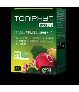 Santé Verte - Toniphyt Acérola Bio 1470 - 20 Comprimés