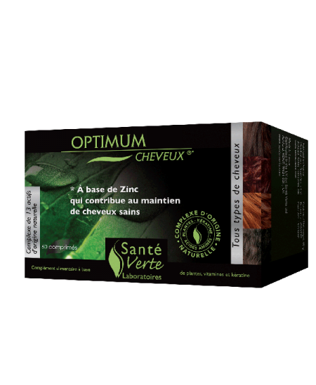 Santé Verte - Optimum Cheveux - 60 Comprimés