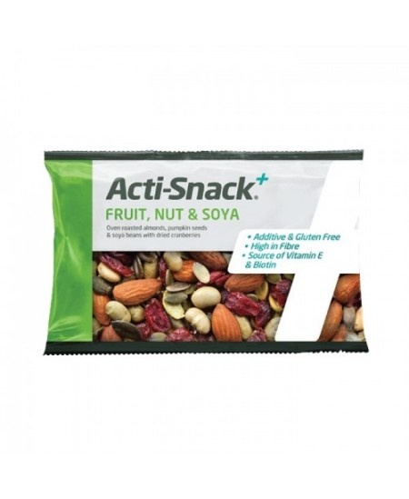Acti-Snack - Fruit, Nut and Soya - Sachet 40g