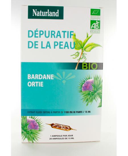 Naturland - Extrait fluide bio - Bardaneet ortie