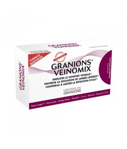 Laboratoire des Granions - Veinomix - 60 comprimés