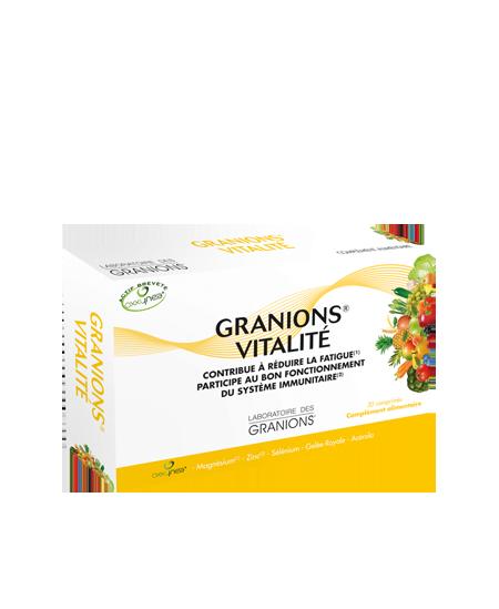 Laboratoire des Granions - Granions Vitalité - 30 comprimés