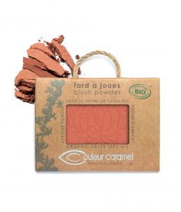 Couleur Caramel - Fard à joues Bio mat - Pêche n°51